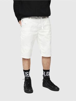 D-KROOSHORT JOGGJEANS, Bianco - Shorts