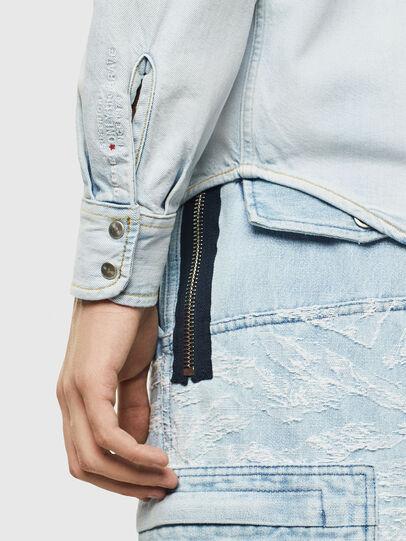 Diesel - D-EAST-P, Blu Jeans - Camicie in Denim - Image 3
