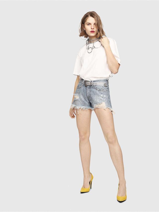 Diesel - DE-RIFTY-S, Blu Jeans - Shorts - Image 7