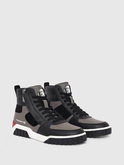 Diesel - S-RUA MID SK, Grigio - Sneakers - Image 2