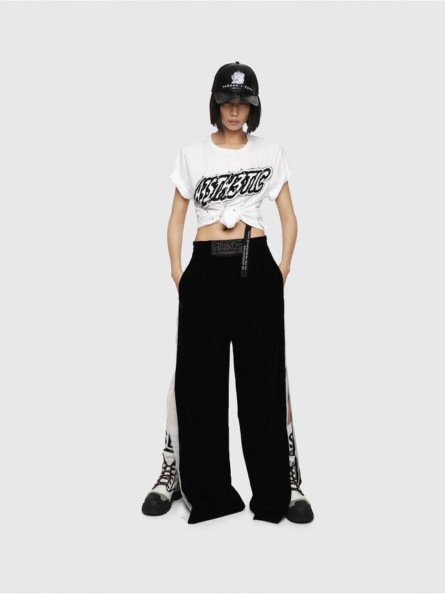 Diesel - T-DARIA-G, Bianco - T-Shirts - Image 4