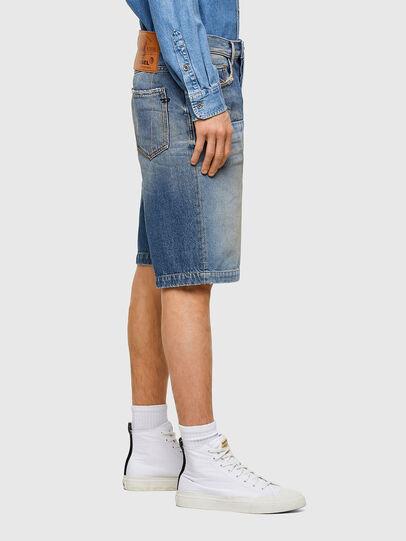 Diesel - D-MACS-SHORT-T-SP, Blu Chiaro - Shorts - Image 3
