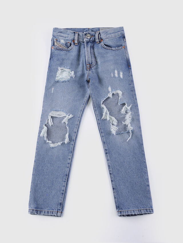 Diesel - MHARKY-J, Blu Chiaro - Jeans - Image 1