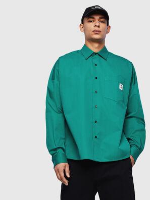 S-LOOMY, Verde - Camicie