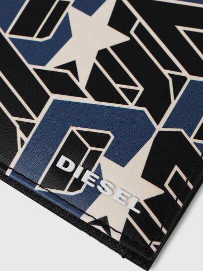 Diesel - HIRESH S, Nero/Blu - Portafogli Piccoli - Image 4