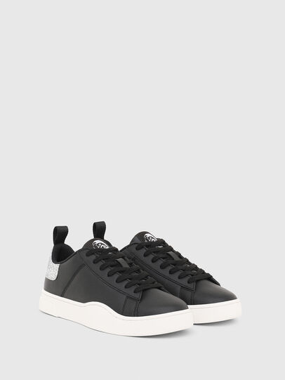 Diesel - S-CLEVER LOW LACE W, Nero/Argento - Sneakers - Image 2