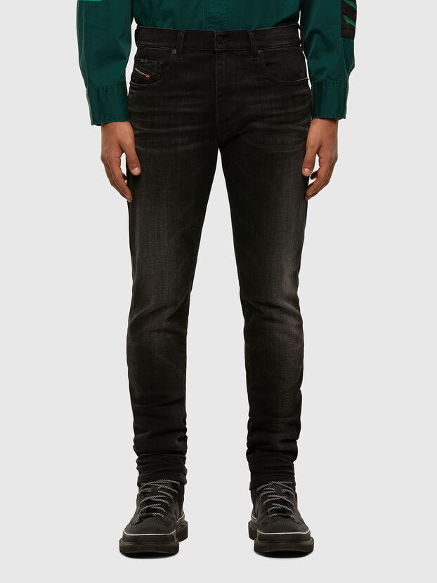 D-Strukt 0098B, Nero/Grigio scuro - Jeans