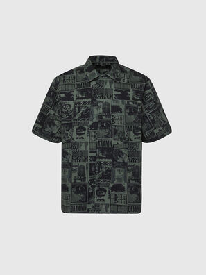 S-ROHAD-B, Verde/Nero - Camicie