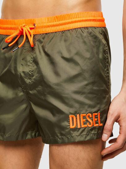 Diesel - BMBX-SANDY 2.017, Verde Militare - Boxer da bagno - Image 3