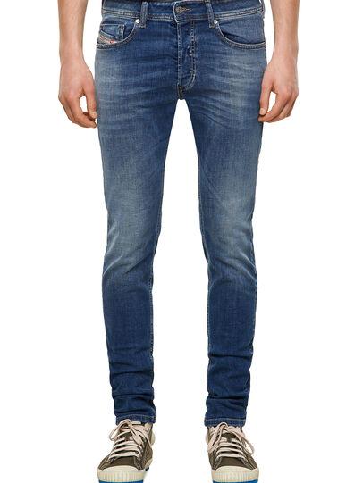 Diesel - Sleenker 09A60, Blu medio - Jeans - Image 1