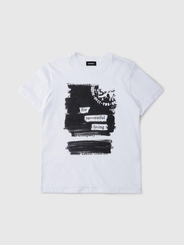 Diesel - TDIEGORH, Bianco - T-shirts e Tops - Image 1