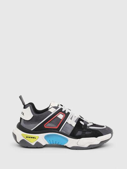 Diesel - S-KIPPER LOW TREK II, Grigio/Bianco - Sneakers - Image 1