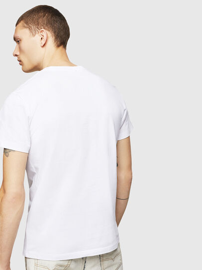 Diesel - T-DIEGO-A4, Bianco - T-Shirts - Image 2