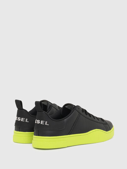 Diesel - S-CLEVER LOW LACE, Nero/Giallo - Sneakers - Image 3
