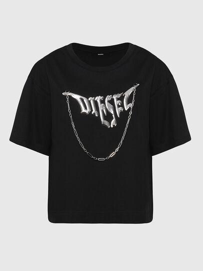 Diesel - T-BOWLY, Nero - T-Shirts - Image 1