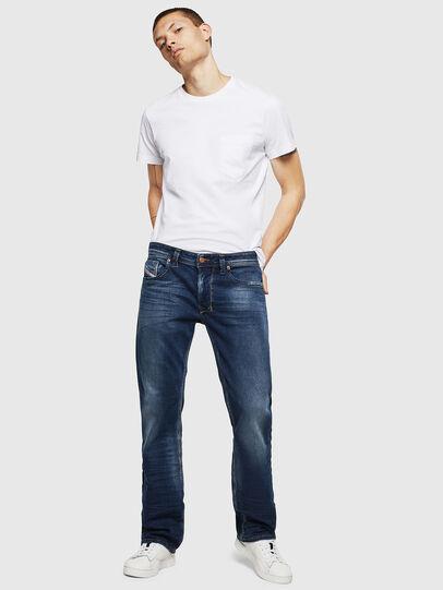 Diesel - Larkee 083AD, Blu Scuro - Jeans - Image 5