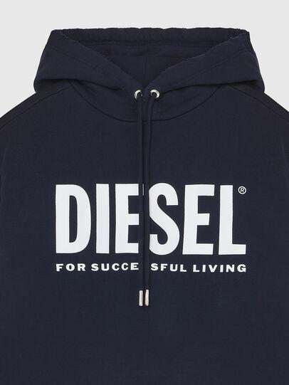 Diesel - S-GIR-HOOD-DIVISION-, Blu Scuro - Felpe - Image 3