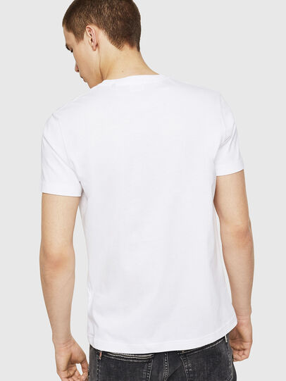 Diesel - T-DIEGO-A8, Bianco - T-Shirts - Image 2