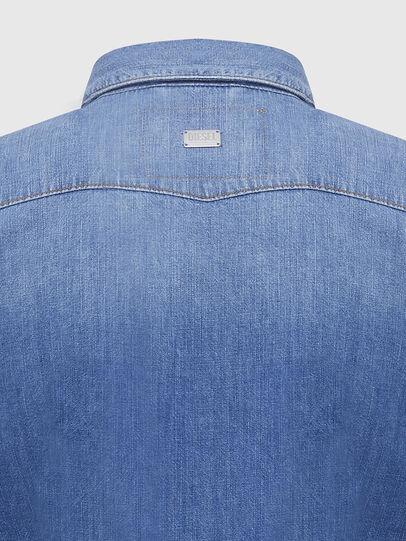 Diesel - DE-RINGY, Blu Chiaro - Camicie in Denim - Image 4
