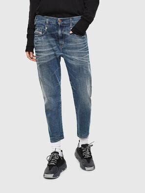 Fayza 0890Y, Blu medio - Jeans