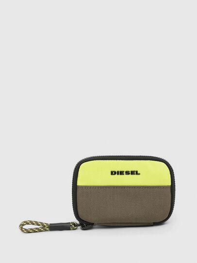 Diesel - LARIO, Verde - Portafogli Con Zip - Image 1
