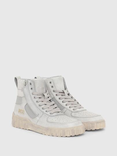 Diesel - S-RUA MID SK, Bianco - Sneakers - Image 2