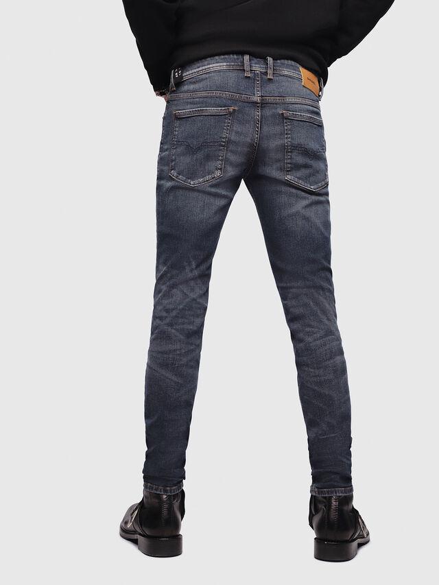 Diesel - Sleenker 069DG, Blu Scuro - Jeans - Image 2
