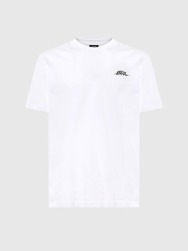 T-shirt con stampa tribale