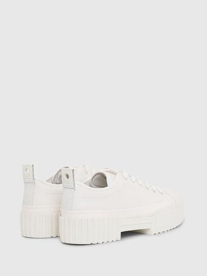 Diesel - S-MERLEY LC, Bianco - Sneakers - Image 3
