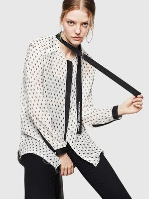 C-SAKURA-B, Bianco/Nero - Camicie