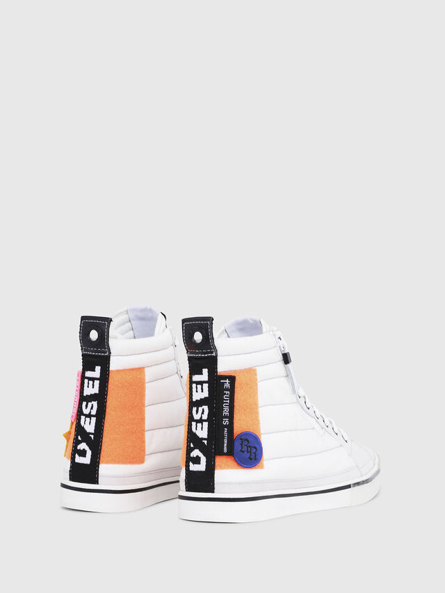 Diesel - D-VELOWS MID PATCH, Multicolor/Bianco - Sneakers - Image 3