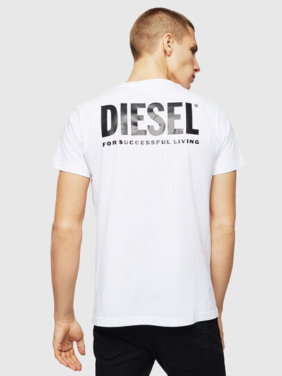 Diesel - LR-T-DIEGO-VIC, Bianco - T-Shirts - Image 2
