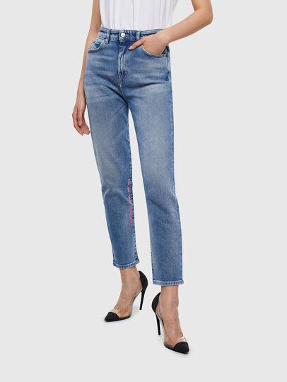 Diesel - D-Eiselle 0096X, Blu medio - Jeans - Image 1