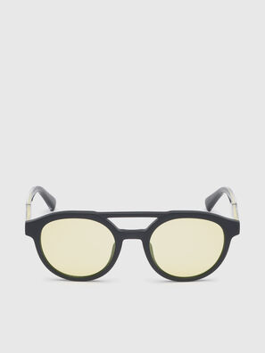 DL0280, Nero/Giallo - Occhiali da sole