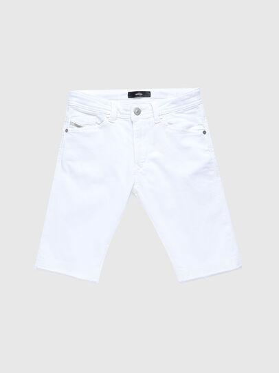 Diesel - DARRON-R-J SH-N JOGGJEANS, Bianco - Shorts - Image 1