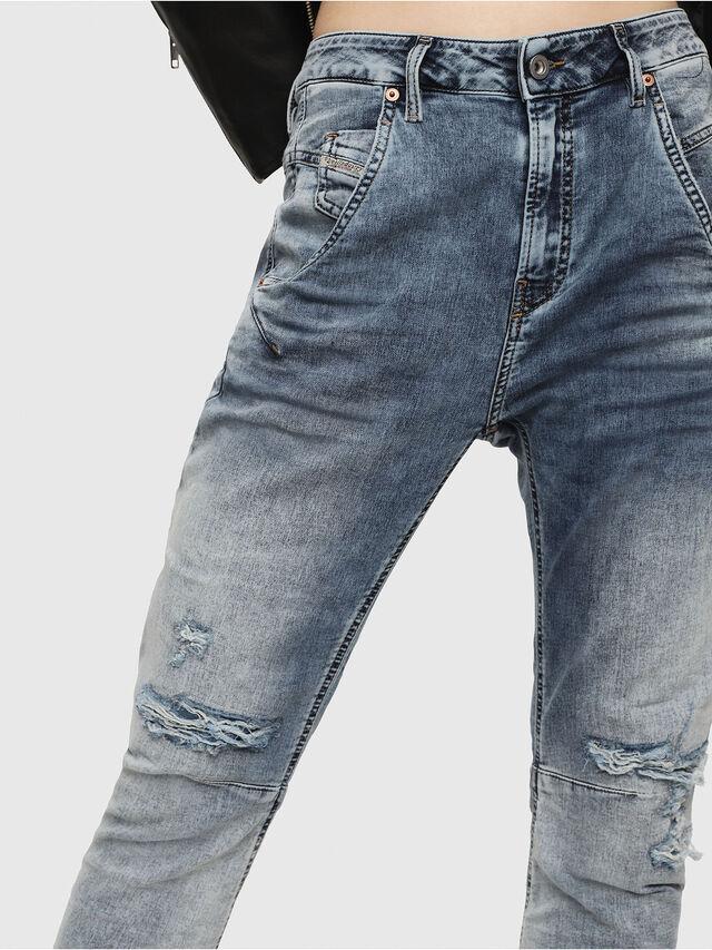 Diesel - Fayza JoggJeans 069FC, Blu Chiaro - Jeans - Image 3