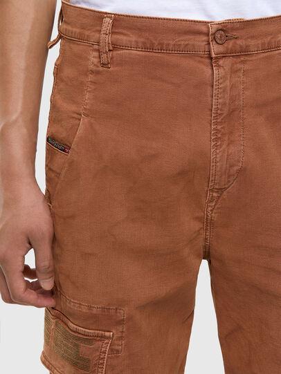 Diesel - D-Krett JoggJeans 069RJ, Marrone Chiaro - Jeans - Image 3