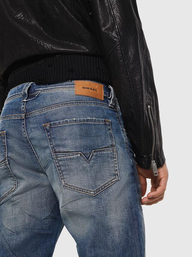 Diesel - Larkee-Beex 089AR, Blu Scuro - Jeans - Image 5