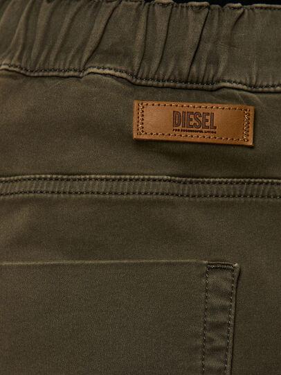Diesel - KROOLEY JoggJeans® 0670M, Verde Scuro - Jeans - Image 4