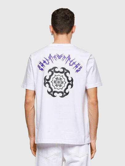 Diesel - T-JUST-E15, Bianco - T-Shirts - Image 2