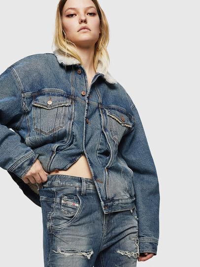 Diesel - Fayza JoggJeans 0890A, Blu Chiaro - Jeans - Image 5