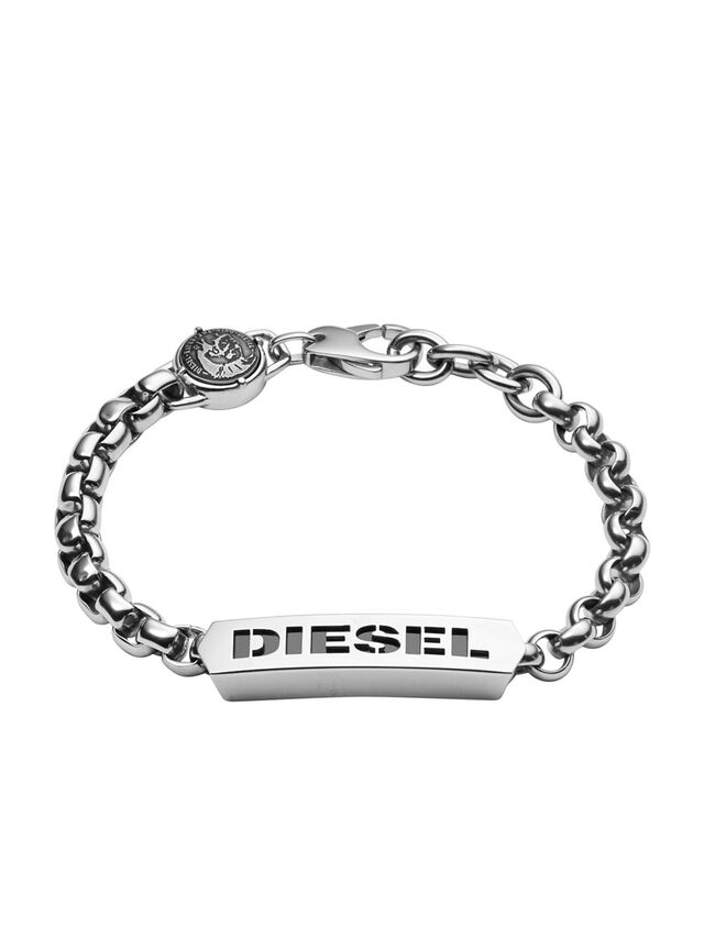 Diesel BRACELET DX0993, Argento - Braccialetti - Image 1