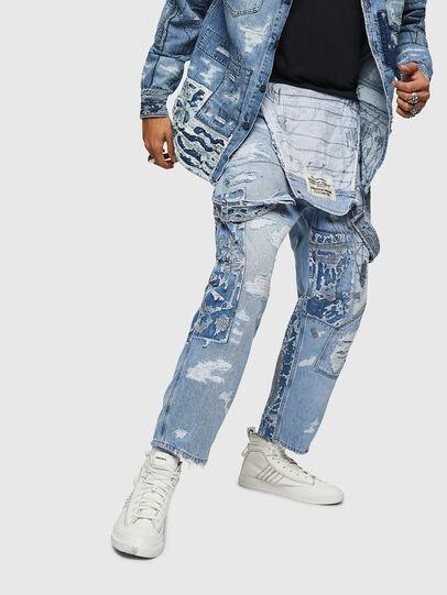 Diesel - D-HARU-SY, Blu Jeans - Tute e Salopette - Image 4