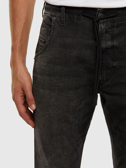 Diesel - KROOLEY JoggJeans® 009FZ, Nero/Grigio scuro - Jeans - Image 3
