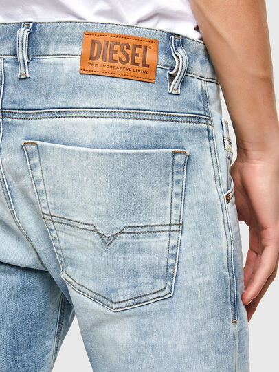 Diesel - Krooley JoggJeans® 069UX, Blu Chiaro - Jeans - Image 4