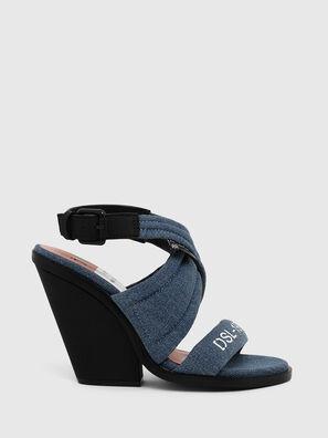 SA-FLAMINGO XR, Blu Jeans - Sandali