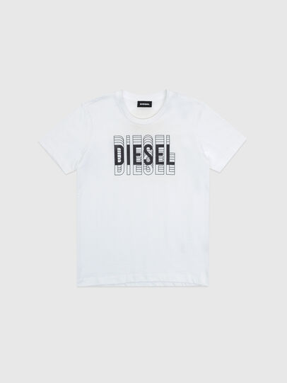 Diesel - TSILYDIESEL, Bianco - T-shirts e Tops - Image 1
