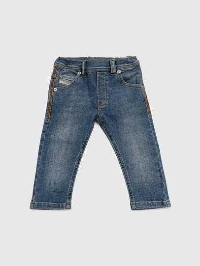 Diesel - KROOLEY-NE-B-N, Blu medio - Jeans - Image 1