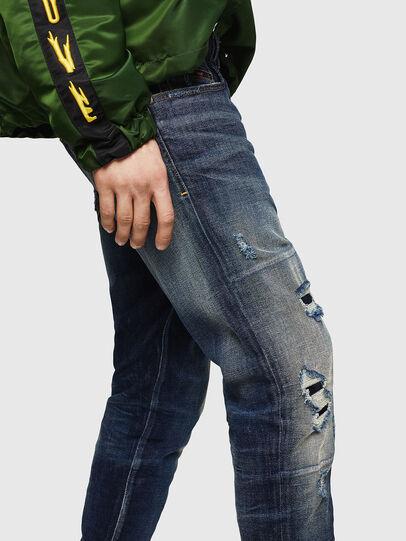 Diesel - D-Strukt 0890W, Blu Scuro - Jeans - Image 3