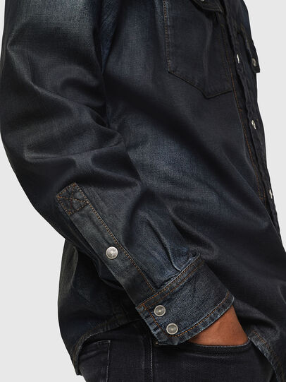 Diesel - D-BANDY-B, Blu Scuro - Camicie in Denim - Image 3
